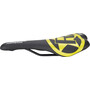 Reverse Fort Will Style Saddle black/yellow