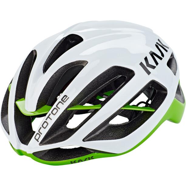 Kask Protone Helm weiß/grün