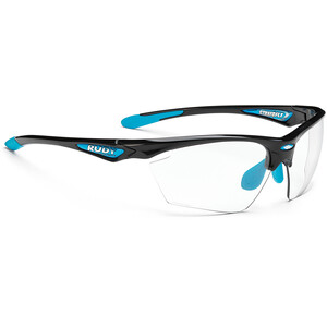 Rudy Project Stratofly Lunettes, black gloss/light blue photoclear black gloss/light blue photoclear