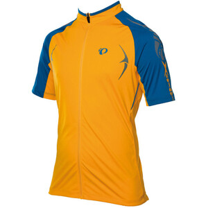 PEARL iZUMi X-Alp Kurzarm Trikot Herren blazing orange/mykonos blue blazing orange/mykonos blue