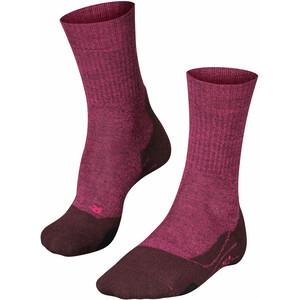 Falke TK2 Wool Trekking Socken Damen lila lila