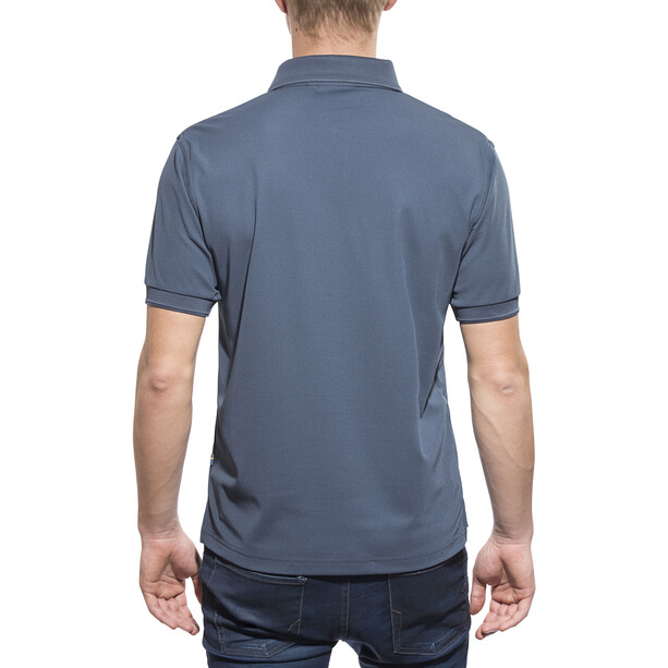 Fjällräven Crowley Piqué Shirt Herren uncle blue