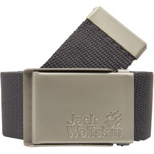 Jack Wolfskin Webbing Wide Gürtel grau grau