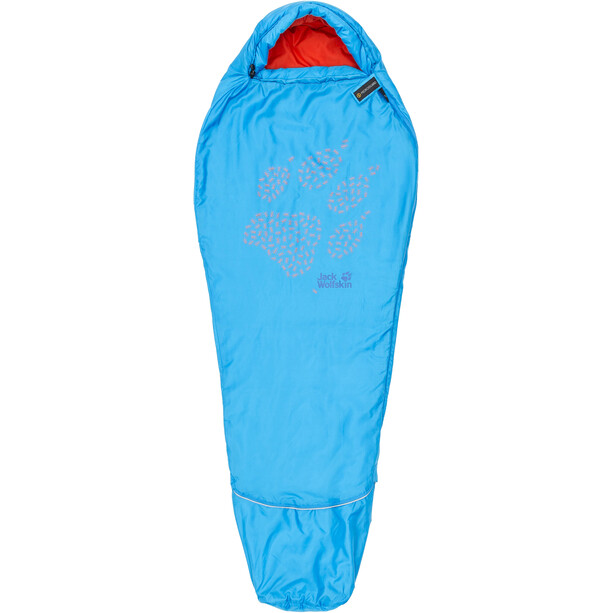 Jack Wolfskin Grow Up Schlafsack Kinder brilliant blue