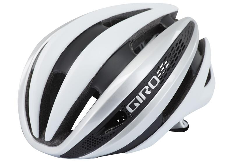 Giro Synthe Helmet matte white/silver 51-55 cm 2018 Fahrradhelme