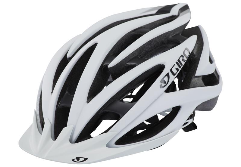 Giro Fathom matte white/black 55-59 cm 2018 Fahrradhelme