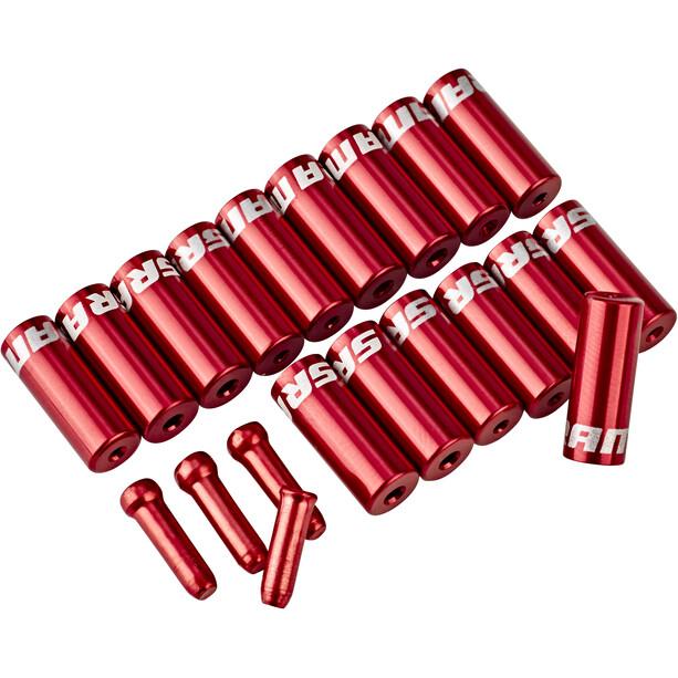 SRAM Kit extrémités de câble, rouge
