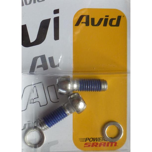 Avid Disc Adapter skruer rustfrit stål 2 stk.