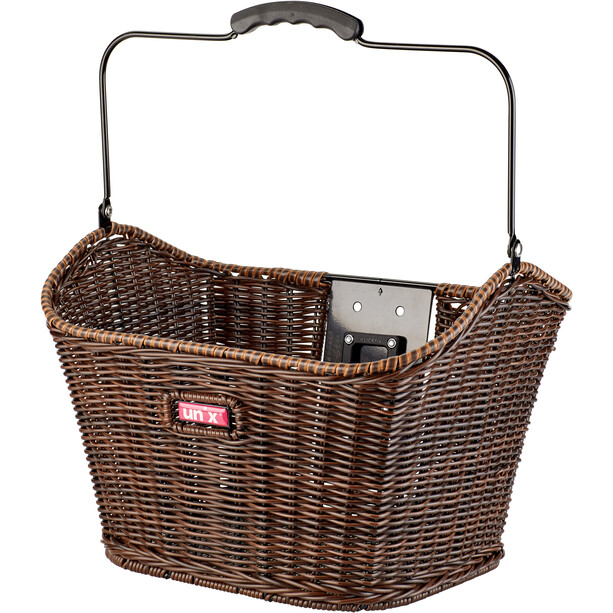 Unix Manolo Front Wheel Basket KlickFix brun