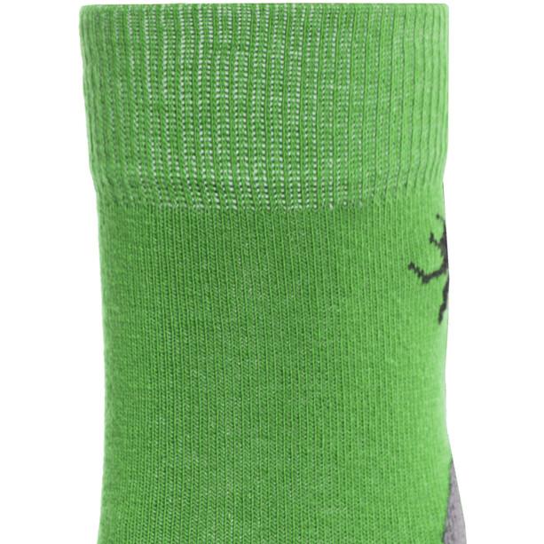 axant Trekking Socken 3er Pack Kinder grün/grau