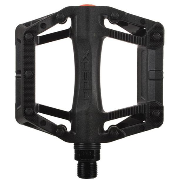 Xpedo Juvee Platform Pedals svart