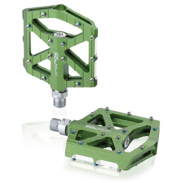 XLC PD-M12 MTB/Trekking Pedal limegreen