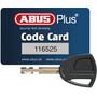 ABUS Granit Plus 640 Bügelschloss TexKF schwarz