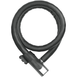 ABUS Steel-O-Flex Centuro 860 QS Kabelslot, zwart zwart