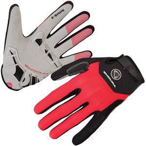 Endura Singletrack Plus Handschuhe red red