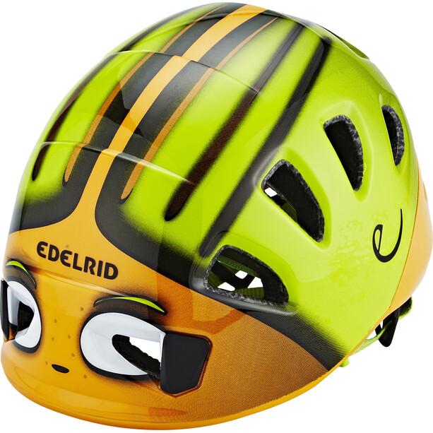 Edelrid Shield II Helm Kinder orange/grün