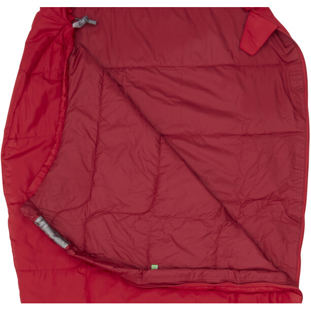 VAUDE Sioux 100 Syn Schlafsack dark indian red
