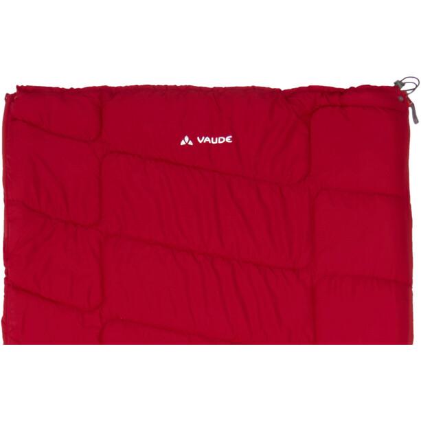 VAUDE Navajo 500 Syn Schlafsack dark indian red