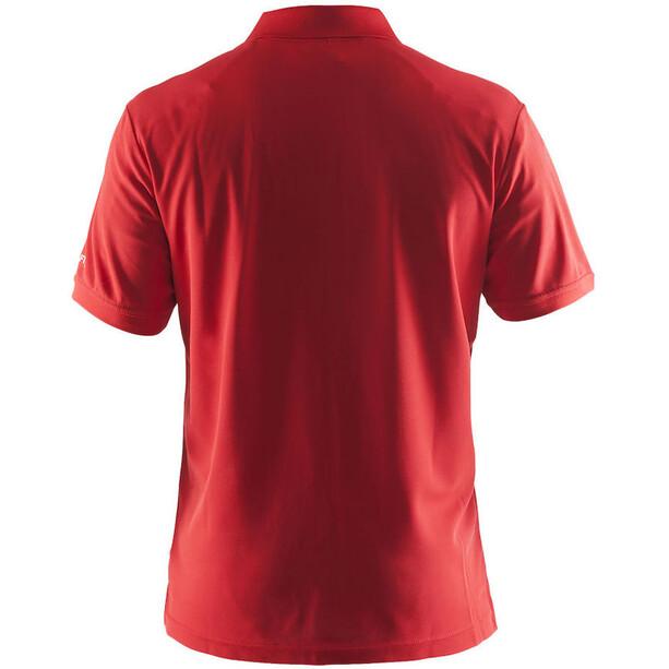 Craft Classic Polo Pique Shirt Herren bright red