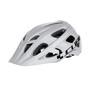 Cube Am Race Helm white'n'black