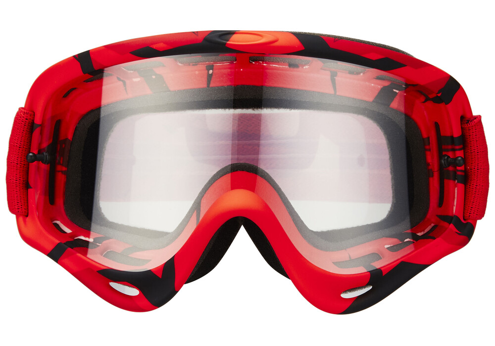 Oakley O Frame Mx Intimidator Red Black Clear G 252 Nstig