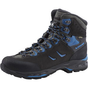 Lowa Camino GTX Trekkingschuhe Herren schwarz/blau schwarz/blau