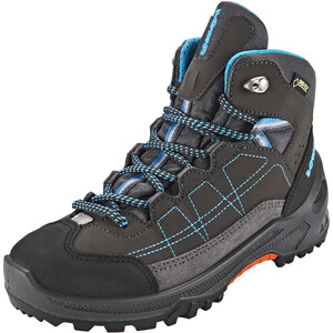 Lowa Approach GTX Mid Schuhe Kinder anthracite/turquoise anthracite/turquoise