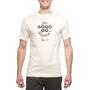 guilty 76 racing gogogo Dege California T-shirt Homme, beige
