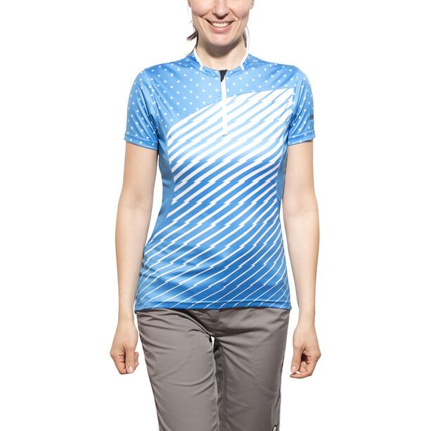 Zimtstern Becca Fahrradtrikot Kurzarm Damen dodger blue