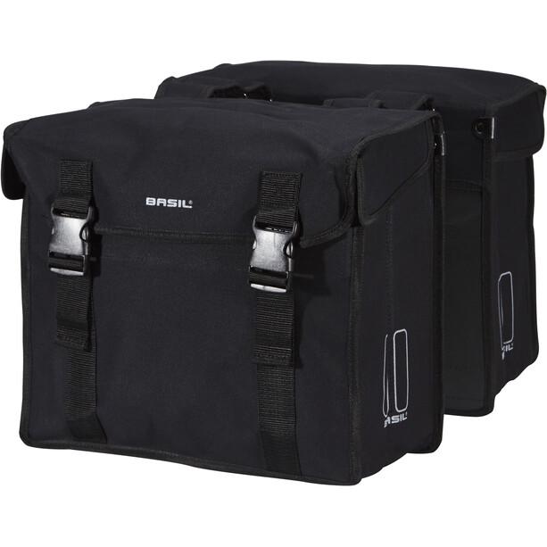 Basil Kavan Double Pannier Bag 45l black