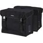 Basil Kavan Doppel-Gepäckträgertasche XL 65l schwarz