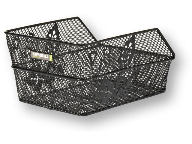 basil cento flower taschenkorb engmaschig l ngs s schwarz online kaufen bei bikester. Black Bedroom Furniture Sets. Home Design Ideas