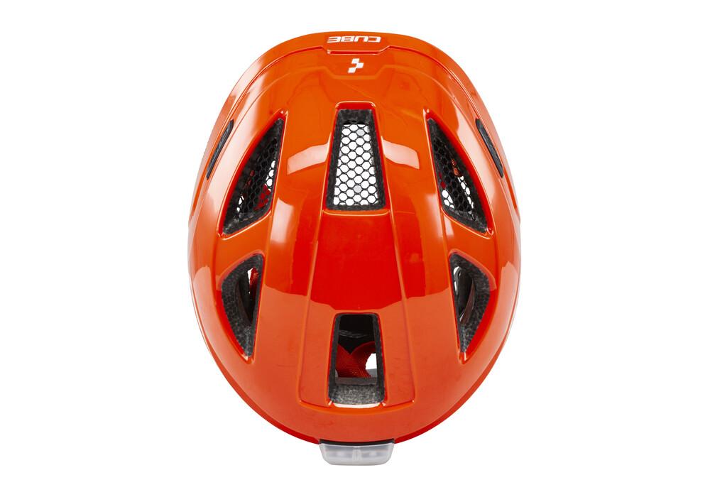 cube pro casque enfant orange boutique de v los en ligne. Black Bedroom Furniture Sets. Home Design Ideas