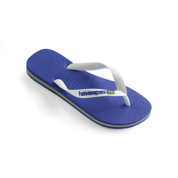 havaianas Brasil Logo Flips marine blue