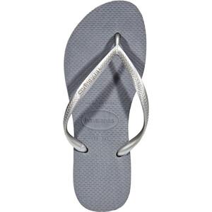 havaianas Slim Flips Damen steel grey steel grey
