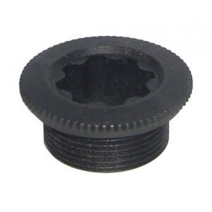 Shimano XT/SLX/LX Crank Bolt für linken Kurbelarm schwarz schwarz