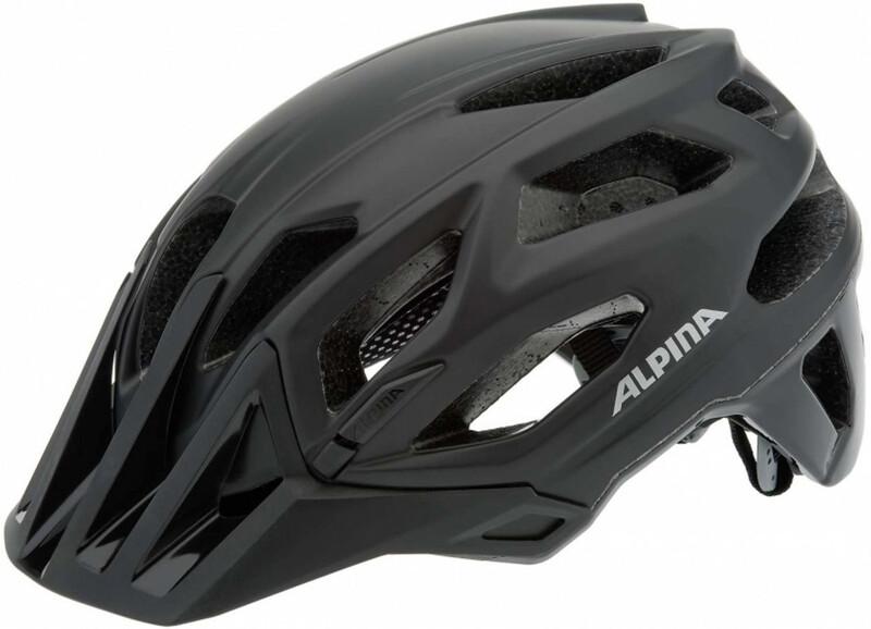 Alpina Garbanzo Helmet black 53-57 cm 2018 Fahrradhelme
