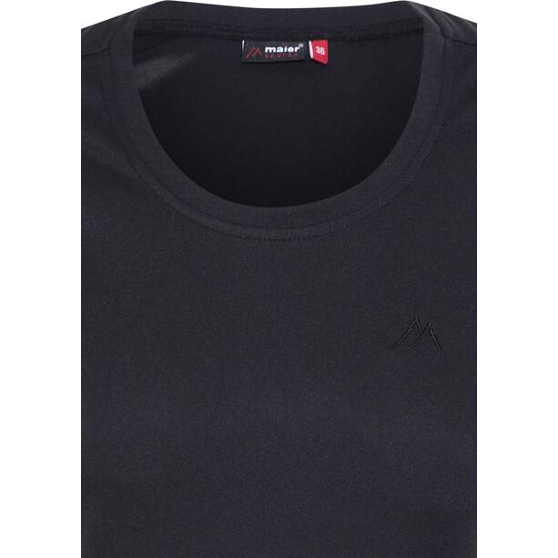 Maier Sports Waltraud T-Shirt Damen black
