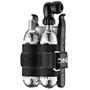 Lezyne Twin Kit und Lever Kit Combo CO2 Pumpe light grey