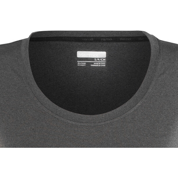 Marmot All Around Kurzarm T-Shirt Damen black