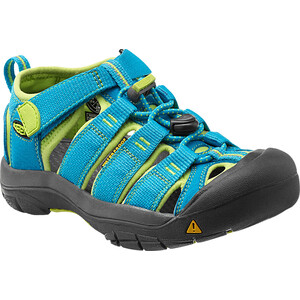 Keen Newport H2 Sandalen Kinder hawaiian blue/green glow hawaiian blue/green glow