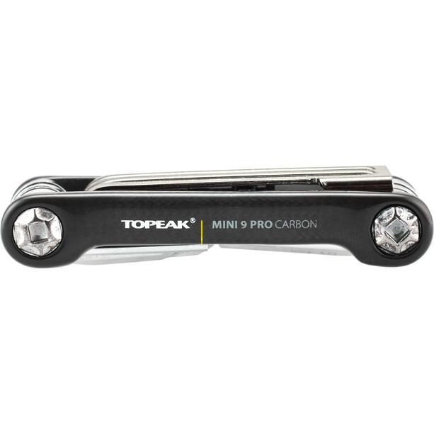 Topeak Mini 9 Pro Miniwerkzeug Carbon schwarz