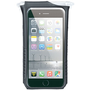 Topeak SmartPhone DryBag for iPhone 6 Plus schwarz schwarz