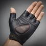 GripGrab ProGel Hi-Vis Gepolsterte Kurzfinger-Handschuhe fluo yellow