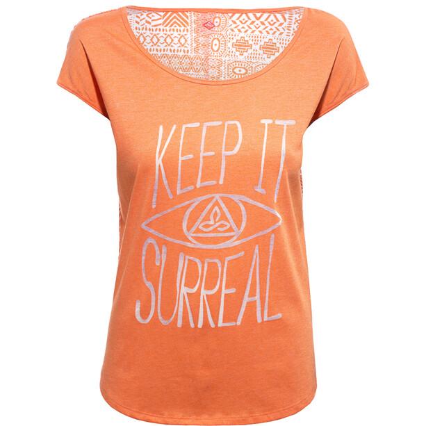 Prana Tandi T-Shirt Femme, sea coral