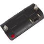Busch + Müller Toplight Line + BrakeTec Bremslicht mit Standlicht 80mm schwarz/rot