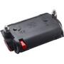 Busch + Müller Toplight Line Batterie-Rücklicht senso 80mm schwarz/rot