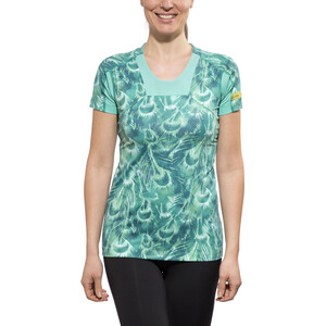 GORE RUNNING WEAR AIR PRINT Skjorte Dame turquoise turquoise
