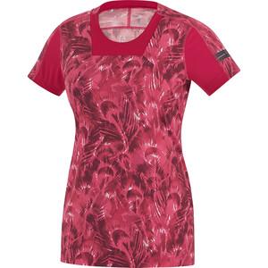 GORE RUNNING WEAR AIR PRINT Shirt Damen pink pink