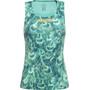 GORE RUNNING WEAR AIR PRINT Singlet Damen turquoise